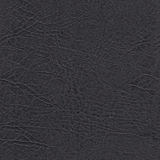 Seamless black leather texture for background Stock Image