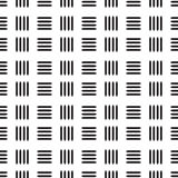 Seamless black line abstract pattern with white background. Vector, copy space for text, black and white theme Stock Photos