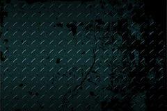 Seamless black metal background. Stock Photos