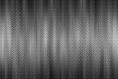 Seamless black metal background. Royalty Free Stock Photos