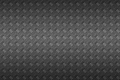 Seamless black metal background. Stock Photography