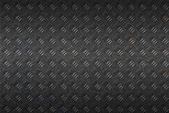 Seamless black metal background. Stock Images