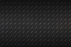 Seamless black metal background. Royalty Free Stock Photo