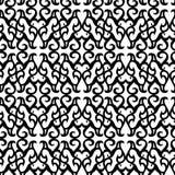 Seamless black pattern Stock Image