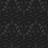 Seamless black silk wallpaper pattern Royalty Free Stock Image