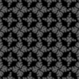 Seamless black small floral elements Royalty Free Stock Photos
