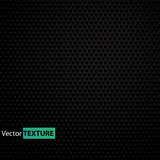 Seamless black vector texture Stock Image