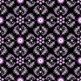 Seamless black vintage pattern Stock Image