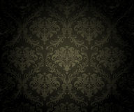 Seamless Black Wallpaper Background Royalty Free Stock Images