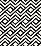 Seamless black weave mesh pattern Royalty Free Stock Photography