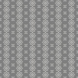 Seamless Black and White Abstract Flower Pattern Royalty Free Stock Photos