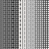 Seamless Black and White Abstract Modern Line Pattern Stock Images