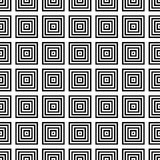 Seamless Black and White Abstract Modern Pattern Stock Photo