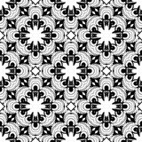 Seamless Black and white abstract 14 pattern, background wallpaper, editable vector,illustration. Seamless black and white pattern,line art background wallpaper Stock Illustration