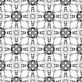 Seamless Black and white abstract 15 pattern, background wallpaper, editable vector,illustration. Seamless black and white pattern,line art background wallpaper Royalty Free Illustration