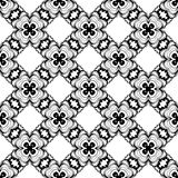 Seamless Black and white abstract 20 pattern, background wallpaper, editable vector,illustration. Seamless black and white pattern,line art background wallpaper Stock Illustration