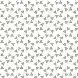 Seamless Black and White Abstract Pattern from Repetitive Triang Royalty Free Stock Photography