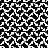 Seamless black and white  background with abstract geometric shapes. Print. Cloth design, wallpaper. Seamless black and white background with abstract geometric Stock Images