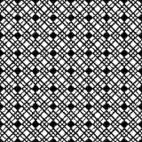 Seamless black and white  background with abstract geometric shapes. Print. Cloth design, wallpaper. Seamless black and white background with abstract geometric Royalty Free Stock Photos