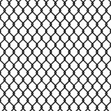 Seamless chain link fence pattern texture wallpaper. Seamless black and white chain link fence pattern background texture wallpaper Royalty Free Stock Photography