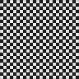 Seamless black and white checkered texture Stock Images
