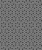Seamless black and white circles background. Abstract seamless black and white circles background stock illustration
