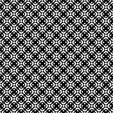Seamless black and white decorative  background with abstract figures Royalty Free Stock Photography