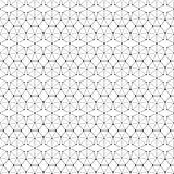 Seamless black and white decorative  background with abstract geometric pattern Stock Photos