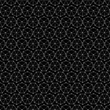 Seamless black and white decorative  background with abstract geometric pattern Stock Photo