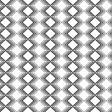 Seamless black and white decorative  background with lines Royalty Free Stock Image