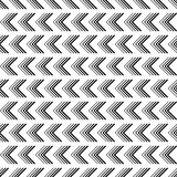 Seamless black and white decorative  background with lines Stock Photo