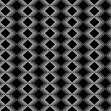 Seamless black and white decorative  background with lines Stock Photos