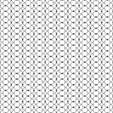 Seamless black and white decorative  background with lines and polka dots Royalty Free Stock Images