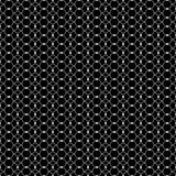 Seamless black and white decorative  background with lines and polka dots Royalty Free Stock Photo