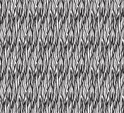 Seamless black and white Doodle pattern Royalty Free Stock Image
