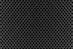 Seamless black and white geometric netting pattern Royalty Free Stock Photo