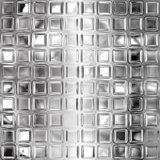 Seamless black and white glass tiles texture Royalty Free Stock Images