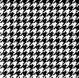 Seamless black and white mordan hamtouth pattern stock illustration