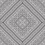 Seamless black and white navajo pattern Royalty Free Stock Image