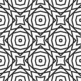 Seamless black and white pattern stock photos