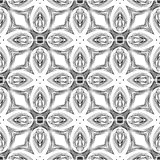 Seamless black and white pattern stock images
