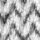 Seamless  black white pattern. Thin black lines on a white background. Seamless abstract black white pattern. Thin black lines on a white background Stock Image