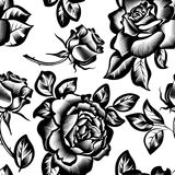 Vintage flowers roses Royalty Free Stock Photography