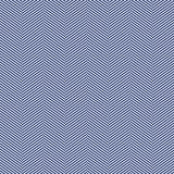 Seamless black and white slim perfect op art herringbone pattern vector Stock Photography
