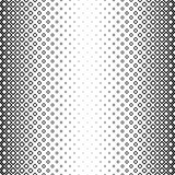 Seamless black and white square pattern Stock Images