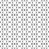 Seamless black and white weave pattern design Stock Photography