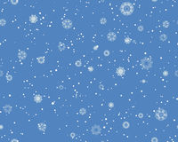 Seamless Blizzard Pattern Royalty Free Stock Photo