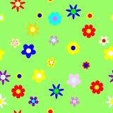 Seamless. blom- bakgrund vektor illustrationer