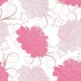 Seamless blom- bakgrund Royaltyfri Foto