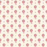 Seamless blom- mönstrar. Blommor texturerar för ungar. Arkivfoto